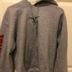 Urban Outfitters gray world wide hoodie
